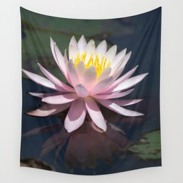 Aquatic pastel flower Wall Tapestry
