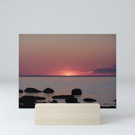 Last Sliver of Sun Light Mini Art Print