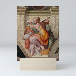"Michelangelo ""The Libyan Sibyl"" Mini Art Print"