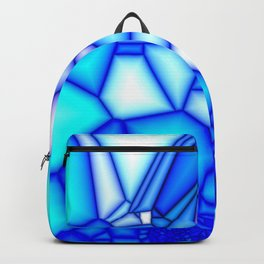 Glowing blue Backpack