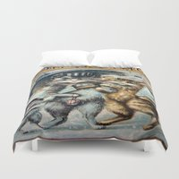 shopping Duvet Covers featuring Shopping by Frankie Cat