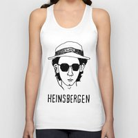 tenenbaums Tank Tops featuring Heinsbergen (Royal Tenenbaums/Breaking Bad) by Tabner's