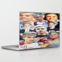 kiki Laptop & iPad Skins featuring Pastel Kiki by awkwardxadolescent