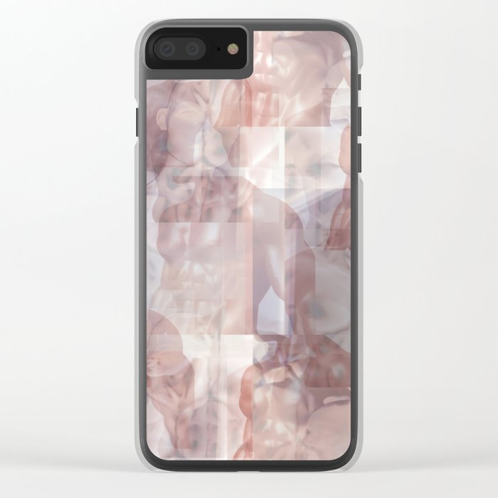 Collage Clear iPhone Case