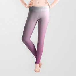 Faded Vintage Pink Ombre Leggings
