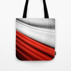 flag of Poland Tote Bag