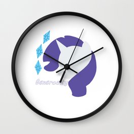 Rarity Wall Clock