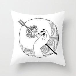 The Devil Throw Pillow