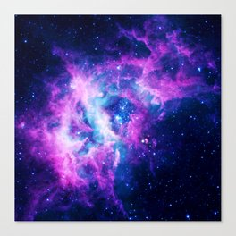 Dream Of Nebula Galaxy Canvas Print