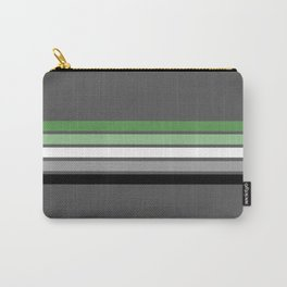 Aromantic Flag Carry-All Pouch