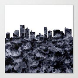 Atlantic City Skyline Canvas Print