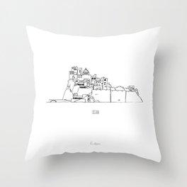 Ischia Throw Pillow