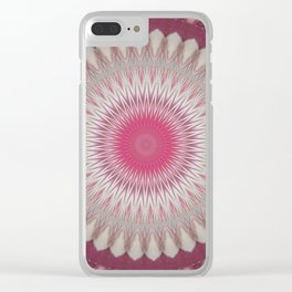 Haze Mandala 1 Clear iPhone Case