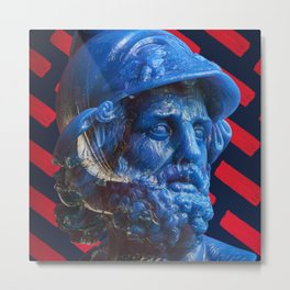 Candy dude (blue) Metal Print