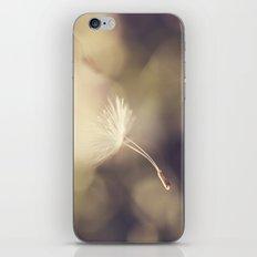 Broken Dandelion, Bokeh iPhone & iPod Skin