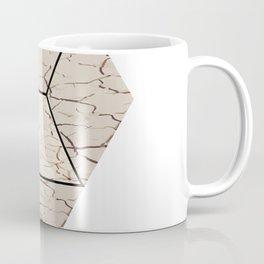 Earth hexagon abstract - Earth sign - The Five Elements Coffee Mug