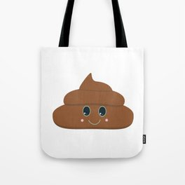 Happy poo Tote Bag