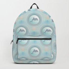Dolphin Mandala Beach Style Backpack