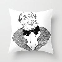 gentleman Throw Pillows featuring Gentleman by Addison Karl