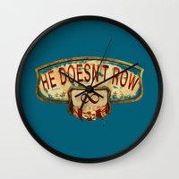 bioshock Wall Clocks featuring Bioshock Infinite by Arts and Herbs