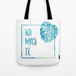 Namastê Tote Bag