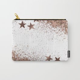 SHAKY STARS ROSEGOLD Carry-All Pouch
