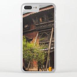 Architecture of Kathmandu City 001 Clear iPhone Case