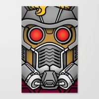 star lord Canvas Prints featuring Star Lord by Ryan the Foe