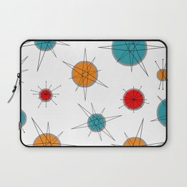 Atomic Age Colorful Planets Laptop Sleeve