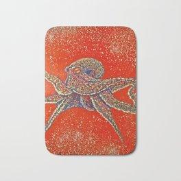 """Arma Dei""Arms of God  octopus trip Bath Mat"