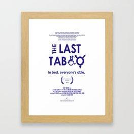 The Last Taboo Documentary   Framed Art Print
