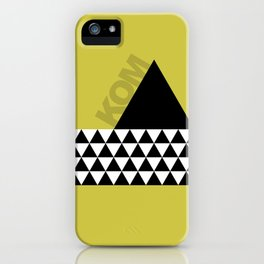 KOM - King of the Mountain iPhone Case