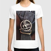 mockingjay T-shirts featuring Mockingjay by AndyGD