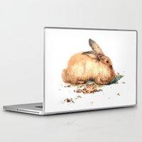 bunny Laptop & iPad Skins featuring Bunny by Ivanushka Tzepesh