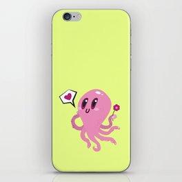 Squid love iPhone Skin