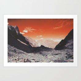 Mars 2011 Art Print