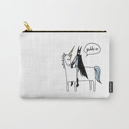 Big Man on a Unicorn Carry-All Pouch