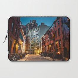 Twilight Hour - West Village, New York City Laptop Sleeve