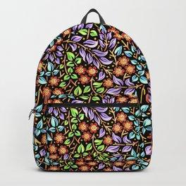 Filigree Floral smaller scale Backpack