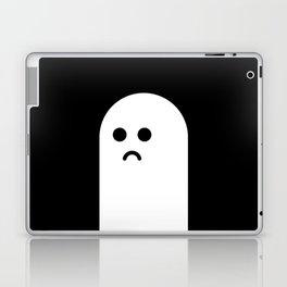 Sad Ghost Laptop & iPad Skin