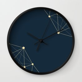 Abstract Background 11 Wall Clock