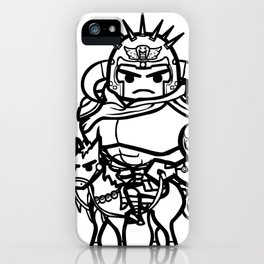 King of Fist of the North Star iPhone Case