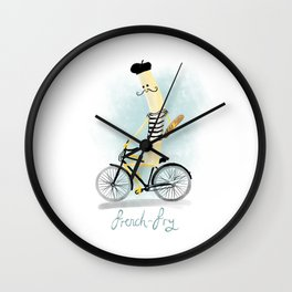 French fry Wall Clock