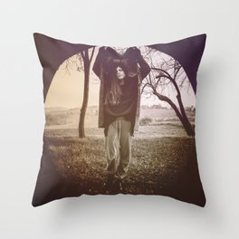 INSIDE A CIRCLE OF EMOTIONS. Throw Pillow