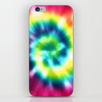 tie dye iPhone & iPod Skins featuring Tie Dye by Patterns of Life