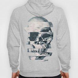 Glitch Skull Mono Hoody