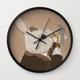 Fake Lop 2 Wall Clock
