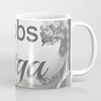 boobs Mugs featuring Boobs Nigga by Unicity