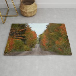 Rolling Hills in Fall Rug