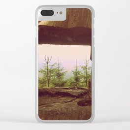 Tree view Clear iPhone Case